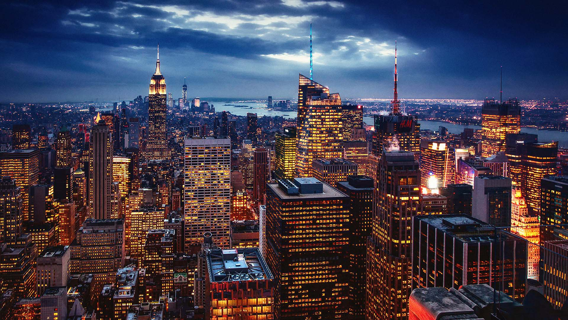 New York City At Night Wallpaper High Quality Conoce New York
